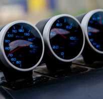 Дополнительные приборы в автомобиль