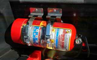 Огнетушитель автомобильный срок годности как определить