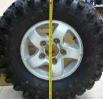 Диаметр колеса 15 радиус