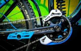 Успокоитель цепи велосипеда установка