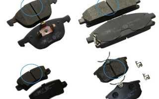 Как определить степень износа тормозных колодок