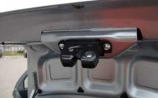 Электропривод багажника лада гранта лифтбек