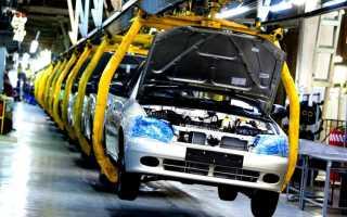 Сообщение на тему автомобильный завод