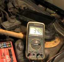 Степень зарядки автомобильного аккумулятора по напряжению таблица