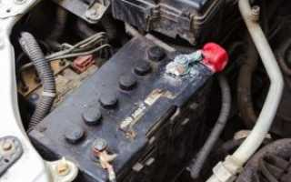 Почему греется клемма минусовая на аккумуляторе