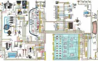 Проводка ваз 2110 инжектор 8 клапанов схема