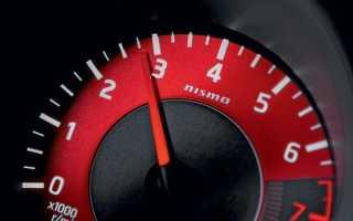 Какие должны быть обороты двигателя при движении