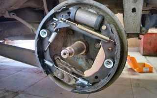 Замена задних тормозных колодок на матизе