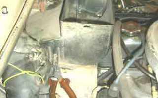 Установка вентилятора от ваз 2108 на ниву