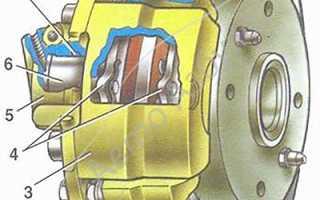 Цилиндр тормозной передний левый ваз 2108