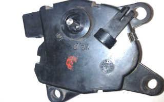 Мотор редуктор заслонки отопителя приора