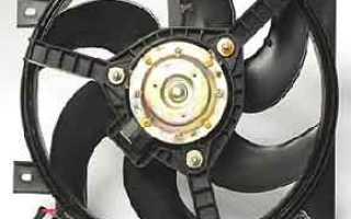 Вентилятора охлаждения двигателя калина