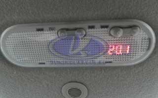 Датчик температуры воздуха лада ларгус