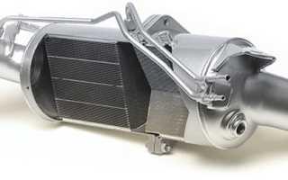 Промывка сажевого фильтра дизельного двигателя своими руками