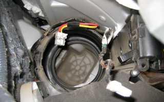Как заменить моторчик печки на ниссан кашкай
