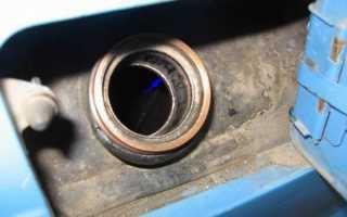 Как защитить от слива бензина ваз 2107