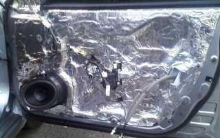 Шумка для дверей автомобиля