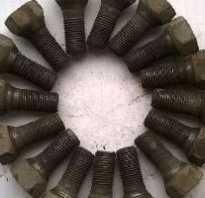 Колесные болты для штампованных дисков ваз