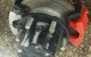 Установка задних дисковых тормозов на газель