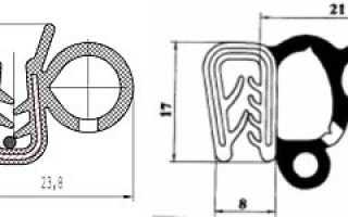 Уплотнитель проема двери уаз хантер