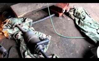 Замена внутренней гранаты нива 21213