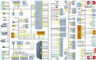 Электросхема шевроле нива 2012 г в