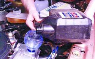 Объем картера ваз 2109