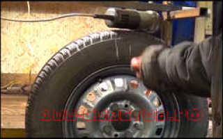 Как отбалансировать колеса своими руками