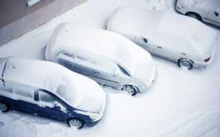 Эксплуатация автомобиля в зимних условиях