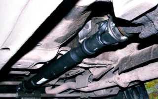 Как смазать крестовину кардана без масленки