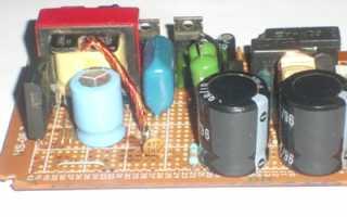 Импульсное зарядное устройство для автомобильного аккумулятора схема