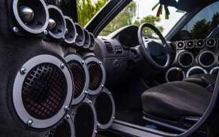 Музыкальная система в машину