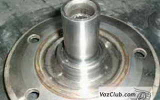 Переделка ступицы ваз 2121 на двухрядный подшипник