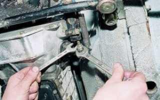 Регулировка сцепления ваз 2107 инжектор своими руками
