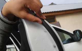 Уплотнитель между дверей автомобиля