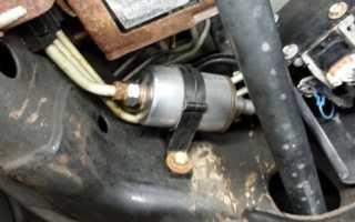 Фильтр тонкой очистки топлива с отстойником