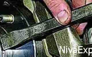 Регулировка подшипника передней ступицы нива 2121