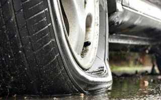 Как заменить колесо на машине