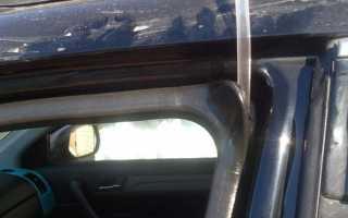 Как восстановить резиновые уплотнители на автомобильных дверях