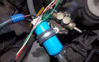 Подключение электробензонасоса на карбюратор