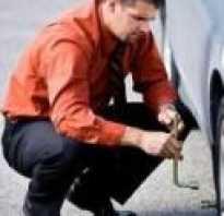 Как снять прикипевший диск колеса