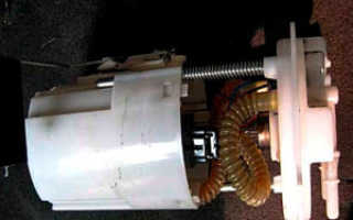 Как по струе топлива определить работу бензонасоса