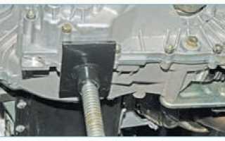 Кронштейн крепления двигателя приора