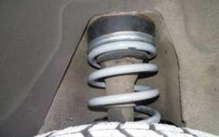 Замена пружин задней подвески ваз 2107 видео