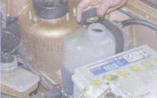 Замена тосола ваз 21099 карбюратор
