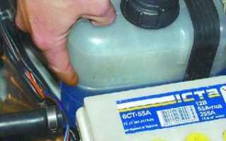 Сколько литров тосола нужно в ваз 2109