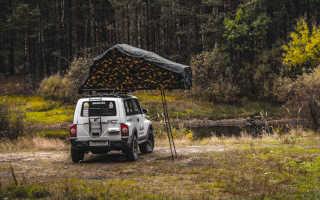 Палатка на багажник автомобиля своими руками