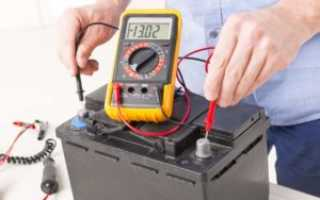 Какой вольтаж должен быть при зарядке аккумулятора