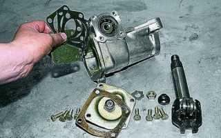 Замена рулевого механизма ваз 2107