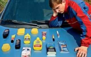 Тест полиролей для кузова автомобиля